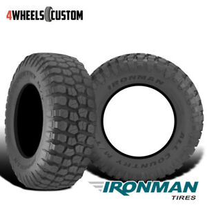 2 X New Ironman All Country M T 37 12 5 20 126q Mud Terrain Tire