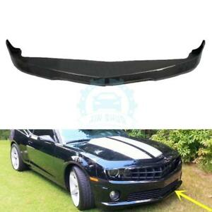 Carbon Fiber Front Lip Chin Trunk Bumper Spoiler For Chevrolet Camaro 2010 2013