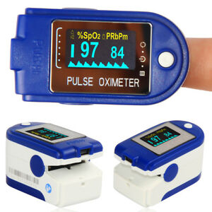 Us Seller Finger Tip Pulse Oximeter spo2 Monitor 24 Hours Recorder Usb Cable Sw