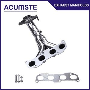For 2002 06 Nissan Altima 2 5l 4cyl L31 Qr25de Stainless Header Manifold Exhaust