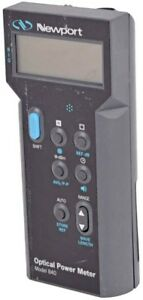 Newport 840 Industrial Handheld Digital Lcd Peak to peak Optical Power Meter