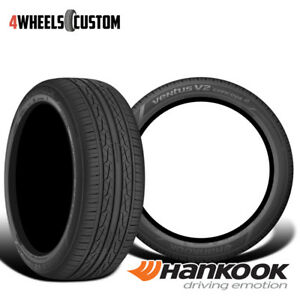 2 X New Hankook Ventus V2 Concept2 H457 215 45 17 91v High Performance Tire