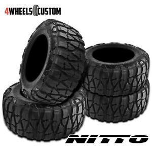 4 X New Nitto Mud Grappler X terra 315 75 16 127 124p Mud Terrain Tire