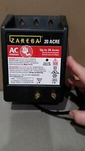 Zareba 20 Acre Electric Fence Controller Model 115v04j 4 Works Free Shipping
