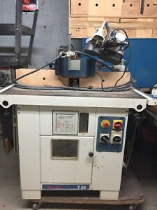 Scmi T 50 Mini Max Tilting Shaper With Feeder And All Inclusive As Per Photo