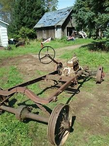 1928 Ford Model Aa Chassis Engine Spoke Wheels Model A Speedster Gow Job Trog