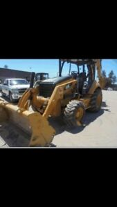 2013 Caterpillar Backhoe 450 E
