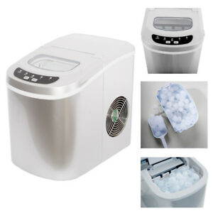 Smad Portable Ice Maker Compact Tabletop Touch Control 26 Lbs day Bar Home