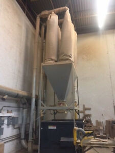 Murphy Rodgers 5000 Cfm Dust Collector