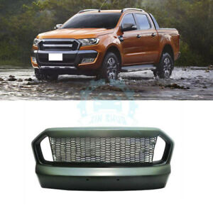 For Ford Ranger 2015 2016 Plastic Front Grill Grille Vent Hole Cover