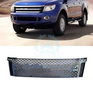 Fit For Ford Ranger T6 2012 2014 Vent Hole Cover Car Part Front Grille Grill