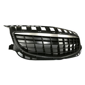 For Buick Regal Gs 14 16 Vehicle Front Hood Grille Abs Mesh Refit Trim No Mark