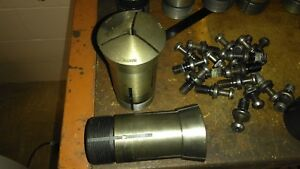 Hardinge 16c 279 Round Smooth Collet W internal Threads 16c Collet