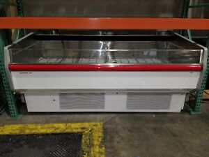 Hussmann 8 Deli Meat Cooler Display Case Reach In Self Contained Merchandiser