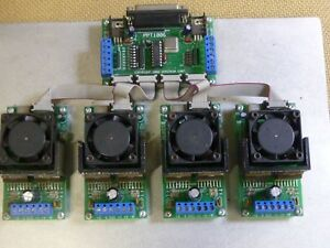 Ohmikron 4 Axis Cnc Stepper Motor Controller Driver Set With Documentation