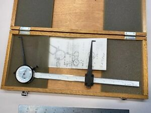Fowler Interchangeable Long Dial 12 Id Caliper 2 3 12 52 552 203 E52