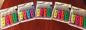Sharpie Clear View Highlighters 8 Pack lot Of 5