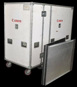 Anvil Cases 76 x35 x56 Custom Armorlite Rolling Shipping Case Crate W 90 Ramp