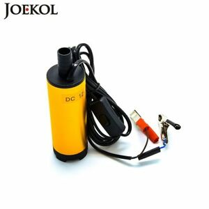 Aluminium Alloy Oil Pump Submersible Water Diesel Electric Fuel Transfer Pump