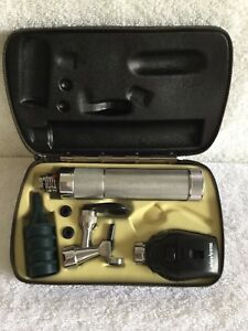Welch Allyn Diagnostic Set Ophthalmoscope 11710 Operate Otoscope 21700