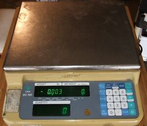 Digi matex Dc 120 Digital Counting Scale Range 0 10 Lbs