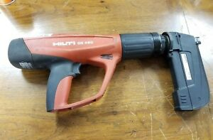 Hilti Dx 460 Powder Actuated Tool Nail Gun With Mx 72 Magazine