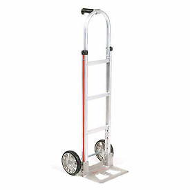Magliner Aluminum Hand Truck With Pin Handle Mold on Rubber Wheels Lot Of 1