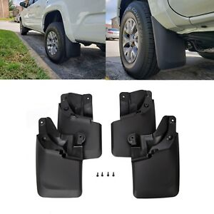 For 2016 2018 Toyota Tacoma Mud Flaps Guards Splash Flares Molded Front