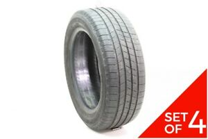 Set Of 4 Used 205 55r16 Michelin Defender 91h 6 5 32