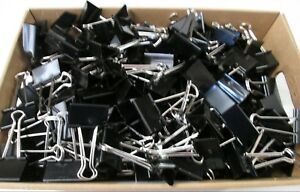 Heavy Duty 2 Inch Binder Clips Large Paper Clamps Qty 268