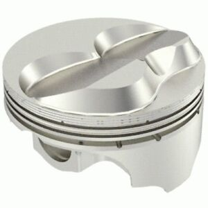 Icon Pistons Ic972 040 Small Block Chevy 383 Solid Dome 2v 40 Over 4 040 Bore