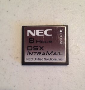 Nec Dsx 40 80 160 1091011 V2 4 0g Intramail 2 Port 8 Hour Flash Voice Mail Sys