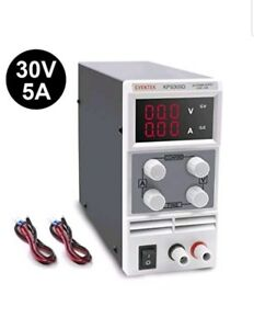 Dc Power Supply Variable Eventek Kps305d Adjustable Switching Regulated Digital
