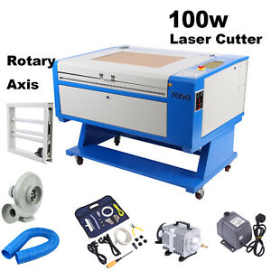 100w Co2 Usb Laser Cutter Engraving Machine Red dot Position Rotary Axis