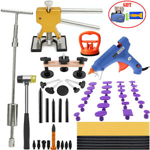 Us Pdr Tools Dent Puller Lifter Hammer Glue Paintless Repair Hail Removal Kits
