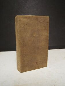 1835 Bible New Testament Only Printed In New York