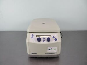 Eppendorf 5424r Refrigerated Centrifuge With Warranty See Video