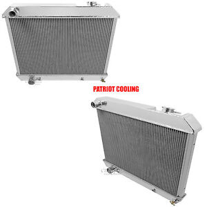 1961 1962 Oldsmobile Starfire Or 88 Aluminum 2 Row Champion Radiator