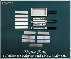 Dyna Foil Machine 3 type Holders 1 adapter Hot Foil Stamping Machine