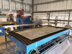 Cnc Plasma Machine table