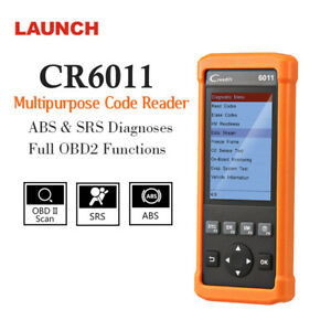 Abs Srs Airbag Launch Obd2 Code Reader Diagnostic Tool Engine Check Scanner Usa