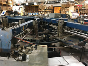 M r Gauntlet Automatic Screen Printing Press Gt8