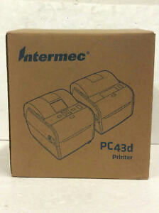 Intermec Pc43d Direct Thermal Desktop Printer Barcode w Lcd Pc43da00100201