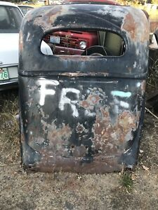 1935 1936 Ford Slant Back Body Panel35 36 Man Cave Will Work With Your Shipper