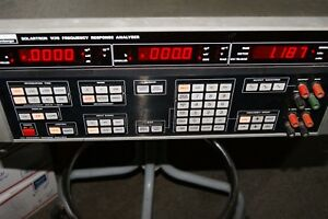 Used Schlumberger Solartron 1170 Series Model 1172 Frequency Response Analyzer