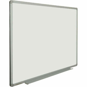 Steel Magnetic Dry Erase White Board 48 X 36 Lot Of 1