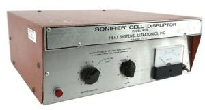 Branson W185 Sonifier Lab Benchtop Homogenizer Cell Disruptor Power Supply