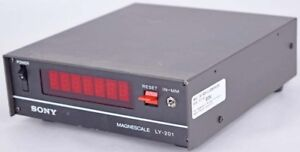 Sony Magnescale Ly 201 Single Axis Benchtop Digital Readout Display Module Parts