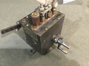 Mccord Force Feed Lubricator Hit And Miss Steam Oilfield Oil Engine Antique Oile