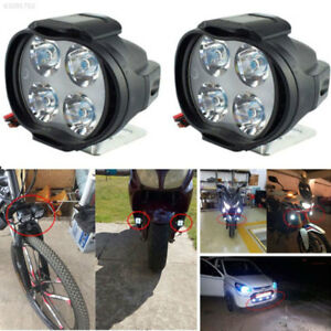 F3d2 Spotlight Motorcycles Bicycles Scooters Led Headlights Dc12v Universal